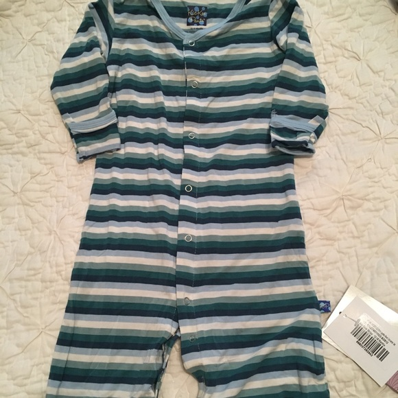 Kickee Pants One Pieces | Nwt Converter Gown | Poshmark